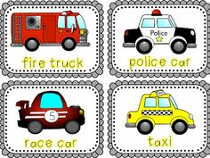 Apples and ABCs: Things That Go: {A Transportation Unit}