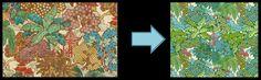 Hidden Temple fabric inspiration