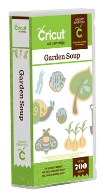 Garden Soup Cricut Cartridge