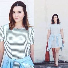 what was on www.foreverfashioned.com yesterday | simple stripes #foreverfashioned