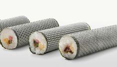 nori, japanes pattern, laser cut, lasercut, japanese patterns, sushi rolls, sushi art, japanes ad, design