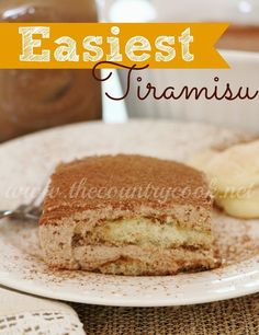 Easiest Tiramisu | The Country Cook #IcedDelight