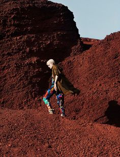 Ehren Dorsey Takes the Road for Vogue Russia July 2012, Lensed by Julia Noni