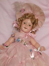 """ON LAYAWAY FOR S. BOWEN -THANK YOU18"""" Shirley Temple in Little Colonial Costume c1930's"""