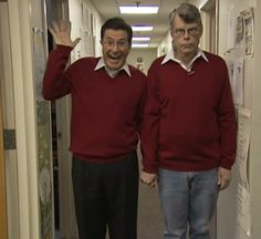 Stephen Colbert and Stephen King. This might be the best picture ever.