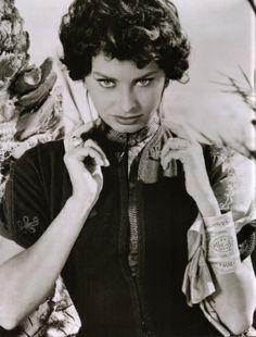 SOPHIA LOREN - 1950'S