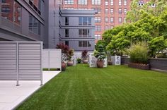 A brand-new 1BR at Chelsea's 305W16 with a private backyard.