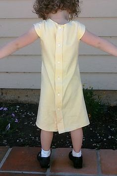 My Projects: petal sleeves and tulip pocket dress