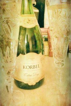 Korbel Champagne :)