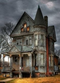 modern living, dream, haunted houses, old houses, abandoned homes, place, farm hous, abandoned houses, halloween
