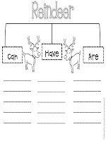 reindeer tree map