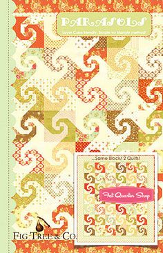 Parasol Quilt Pattern by Fig Tree Quilts
