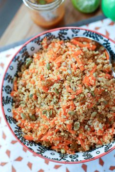 Carrot Raisin Quinoa Salad | Aggie's Kitchen