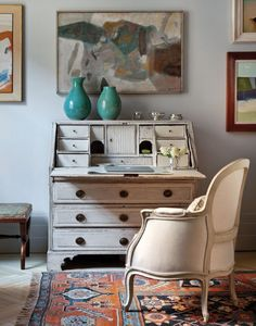 Secretary Desk, Art