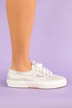 Superga Classic Sneaker - Silver