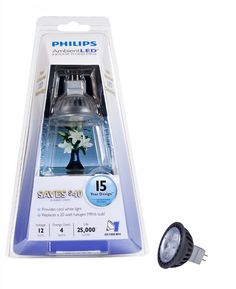 Under $10 Sale: Philips AmbientLED (TM) 20W Replacement MR16 LED Light Bulb with GU5.3 Base - Cool White $9.95