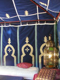 Furniture for the home - Moroccan tents
