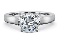 About 70% of all brides sport the traditional diamond on the fourth finger of their left hand