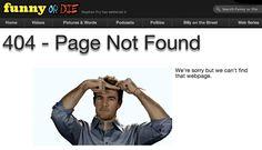 More Dawson-y 404 goodness! http://www.funnyordie.com/404