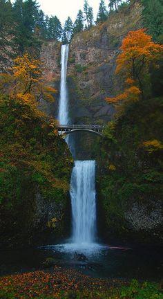 Multnomah Falls, Oregon! <3 <3 <3