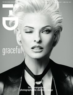 Linda Evangelista / i-D magazine 2012
