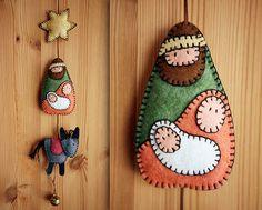 DIY Felt Nativity Pattern