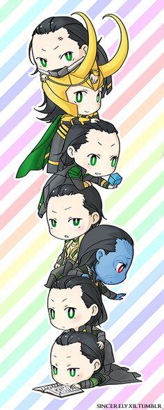 Little Lokis!