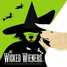 Wicked Wieners - Wicked, but with dachshunds