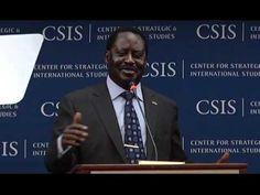Statesmen's Forum: Raila Odinga, Prime Minister of Kenya