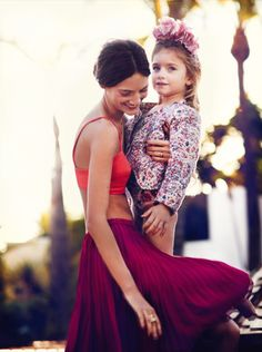 chic mother + daughter#PPBmothersday