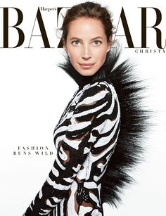 Christy Turlington. Daniel Jackson. Harper's Bazaar.