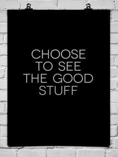 Choose.