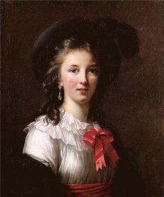 Self-portrait, 1781 - Louise Elisabeth Vigee Le Brun -