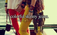 primary colors, colored pants, gir thing, bag, boho, summer accessories, colored denim, bohemian, colored jeans