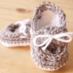 These cute and easy boat shoes are perfect for any baby boy or girl!