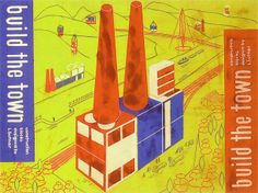 """Build the Town"" building block set, Ladislav Sutnar, 1940-43"