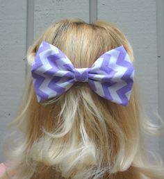 bows Cute chevron bow hair clip #bows #chevron #hair