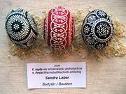 Sorbische Eier - Bing Bilder easter egg, bing bilder, sorbisch eier, sorbian egg, pysanki cousin
