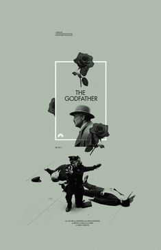 °Movie Poster | The Godfather by Adam Juresko | #graphic #design |