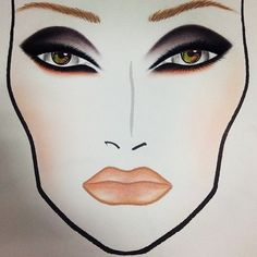 face charts | Tumblr
