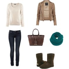 minus the uggs because uggs need to cease existing.