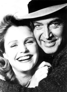 Lee Remick and James Stewart