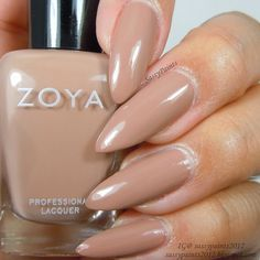 Sassy Paints: Zoya Spencer from the Naturel Deux Collection