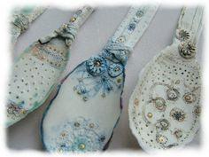 Emma Louise Wilson - lovely procelain work porcelain spoons