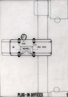 AD Classics: The Plug-In City  / Peter Cook, Archigram