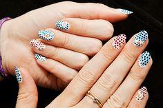 Stella McCartney Spring 2012 nails