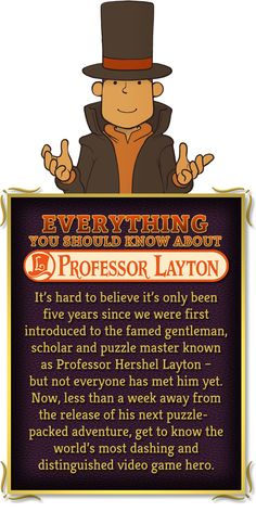 Everything You Should Know About Professor Layton New games for play.