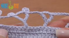 How to Crochet The Y Stitch Tutorial 28 Treble Crochet Posts  https://www.youtube.com/watch?v=w3WxXC6jo9k Free crochet video tutorials for beginners and masters. Learn how to crochet the Y stitch following the video instructions. To make the Y stitch work a triple treble stitch, then chain 3 and treble crochet in second (counting from the bottom of the post) pair of strands that are on the triple treble post.