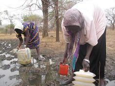In conjunction with our national director in Sudan and local partners in Sudan, Mocha Club provides clean water to the people of Jach, a Darfur refugee community. Three years ago, there was virtually no access to clean water. Before the wells were drilled, women were forced to scoop muddy water.