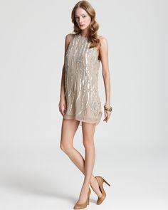 Parker Dress - Tank with Sequins | Bloomingdale's